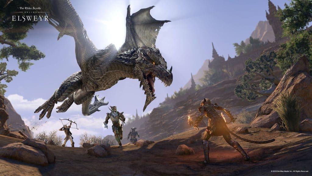 ElderScrollsOnline-dragon